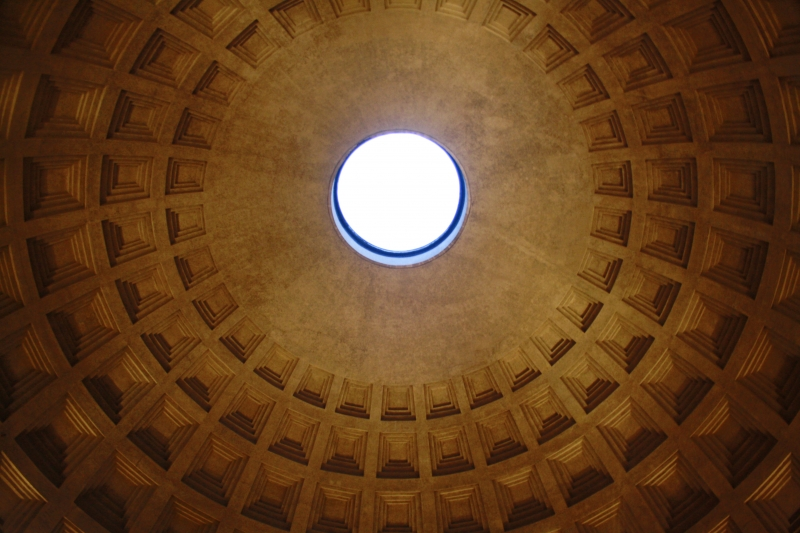 Pantheon is an incredible place to visit both internally and externally.
