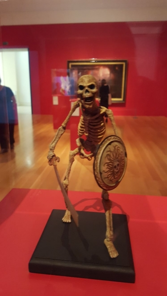 Harryhausen skeleton (From Jason and the Argonauts). Childhood ambition fulfilled!