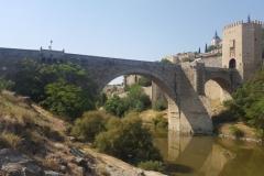 Apparently it was originally a Roman bridge, or had Roman foundations.