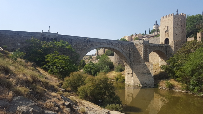 Roman bridge (Toledo)