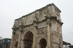 The Arch of Titus often gets overlooked. Lots to study on it.