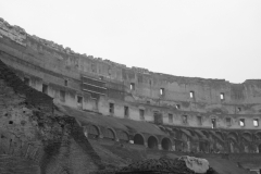 The interior of the Colosseum, not always what people expect.